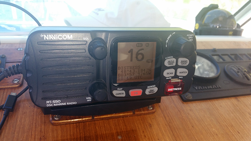 Radio VHF navicom